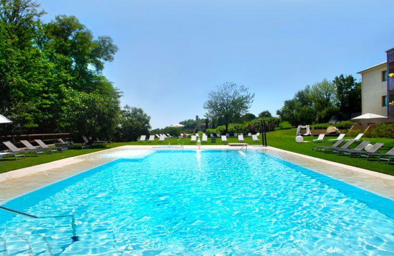 Swimming-pool - Hotel Relais Le Betulle Conegliano